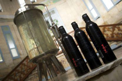 Manantial de Verín del que Cabreiroá extrae a 3.000 metros de profundidad el agua que luego vende en botellas de aluminio.