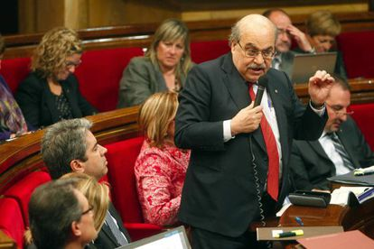 El conseller de Economía de cataluña, Andreu Mas-Colell