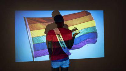 Un miembro de la comunidad trans de Burkina Faso.