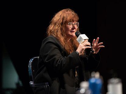 Isabel Coixet interviene en la presentación de la temporada cultural del Instituto Francés.