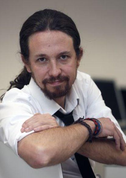 El 'número uno' de la candidatura de Podemos, Pablo Iglesias.