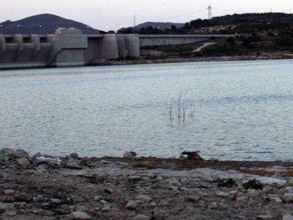 El pantano de Bellús, en una imagen de archivo.
