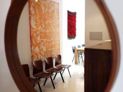 Un rincón de Studio Schneider & Colao, especializada en diseño del siglo XX.