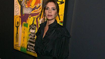 Victoria Beckham, en la celebración del 25º aniversario de Sotheby en Londres el pasado septiembre.