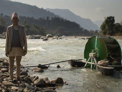 El invento, ecológico, ayuda a los granjeros nepalíes