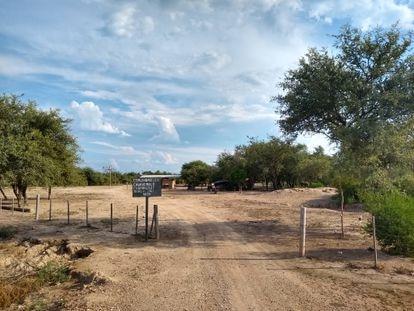 Misión Cañaveral, en el Chaco salteño. J. L. M.