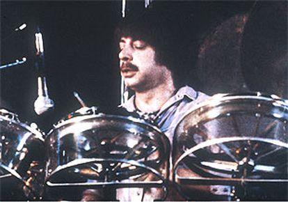 """Fotografía de archivo del batería del grupo sevillano de rock """"Triana"""", Juan José Palacios."""
