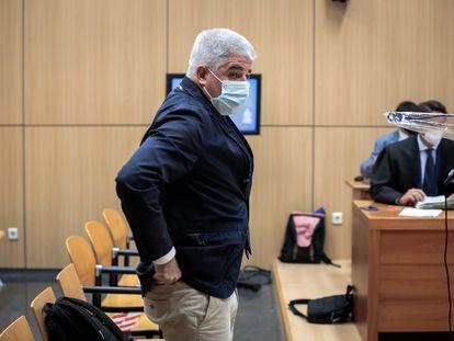 El exdirector general de RTVV José López Jaraba, durante el juicio.