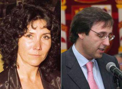 Rafaela Corujo, copropietaria de Don Simón, y Tomás Pascual Gómez-Cuétara, presidente de Leche Pascual
