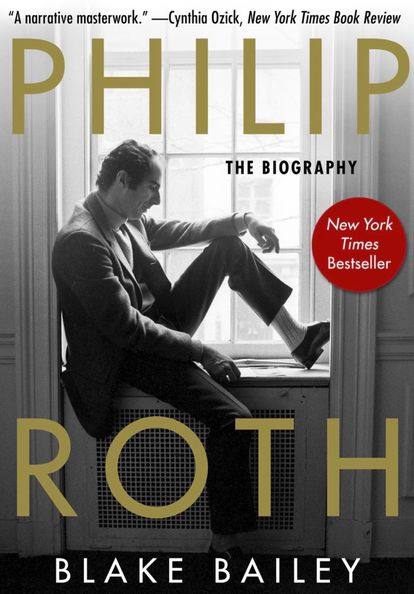 Cover of the biography of Philip Roth written by Blake Bailey.  The hardcover edition of WW Norton was withdrawn on April 29.