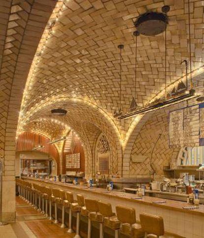 Barra del Oyster Bar & Restaurant en Grand Central. |