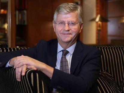 Jean-Pierre Lacroix, secretario general adjunto de Operaciones de Paz de la ONU, el pasado 12 de octubre en Madrid.