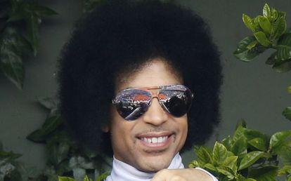Prince, retratado en junio pasado.
