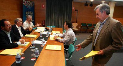 Los portavoces de los grupos elaboraron el 3 de agosto de 2006 sus conclusiones de la investigación.