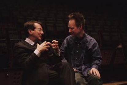 Gerard Mortier y Peter Sellars.
