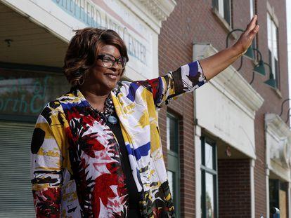 La nueva alcaldesa de Ferguson, Missouri, Ella Jones.