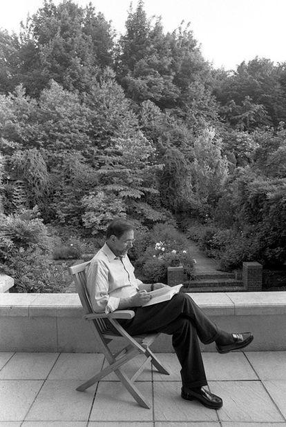 Javier Solana, fotografiado durante sus años en Bruselas