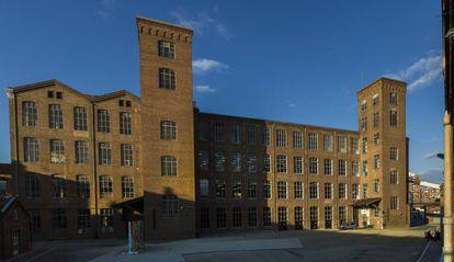Exterior de la Fabra i Coats, en una imagen de archivo.