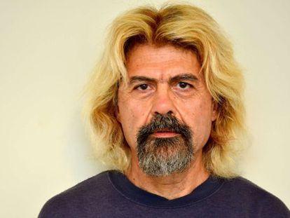 Christodoulos Xiros, en una foto proporcionada por la policía tras su arresto.