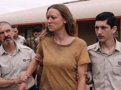 Yvonne Strahovski, en una imagen de la serie 'Desplazados'.