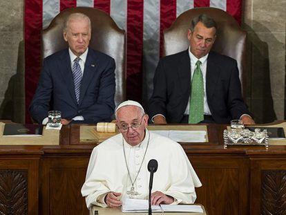 El Papa Francisco ante el Congreso de EEUU