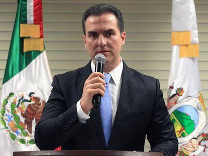 El alcalde de Monterrey, Adrián de la Garza