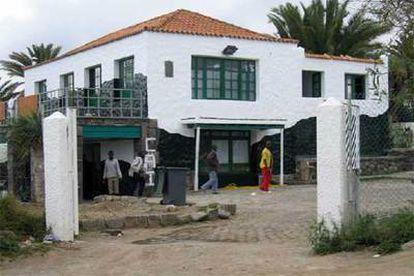 Centro de acogida inmediata de menores inmigrantes clausurado el jueves.