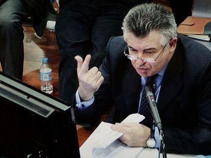Roca durante una declaración en 2011.