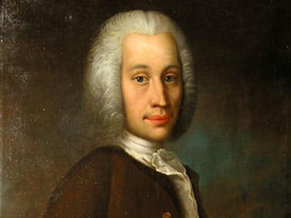 Retrato de Anders Celsius (1701-1744) del artista Olof Arenius.