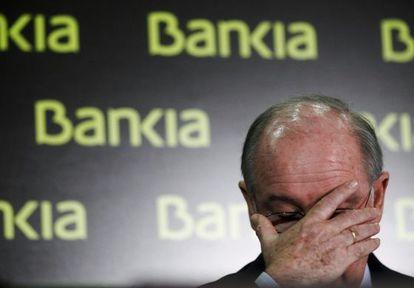 El expresidente de Bankia, Rodrigo Rato, en 2012