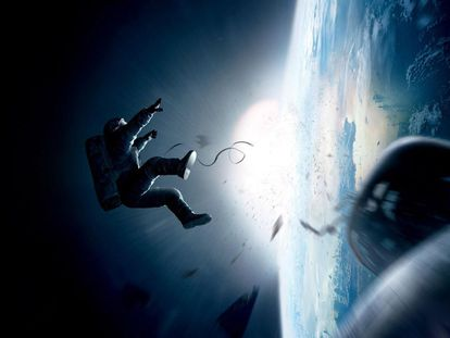 'Gravity' ha llegado a la gala de los Oscar con 10 nominaciones. La mayoría, inevitablemente, son para premios técnicos, en una película que es un espectáculo de imágenes.