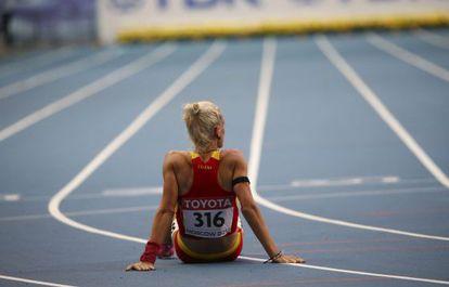 Natalia Rodríguez, tras la semifinal de 1.500.