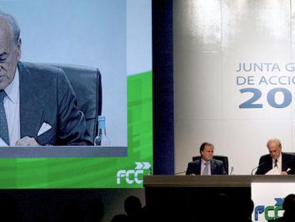 El presidente y delegado de FCC, Baldomero Falcones.