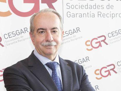 Antonio Couceiro, presidente de Cesgar SGR, en una imagen de archivo.