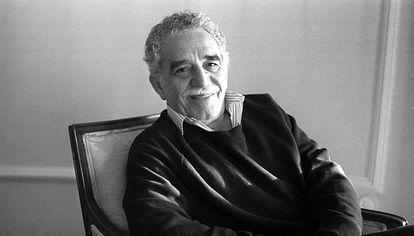 Gabriel García Márquez en mayo de 1996 en Madrid.