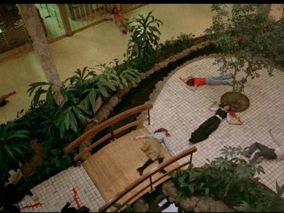 Fotograma de 'Zombi: El regreso de los muertos vivientes'.