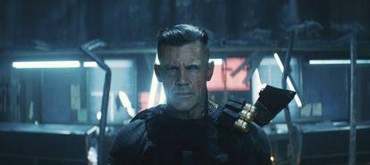 Josh Brolin como Cable en 'Deadpool 2'.