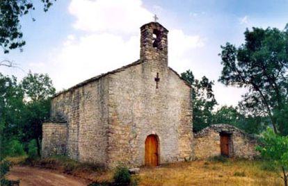 Iglesia de Sant Bartomeu de la Vall d'Arient, Lleida.