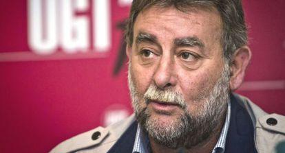 Francisco Fernández Sevilla, secretario general de UGT Andalucía.