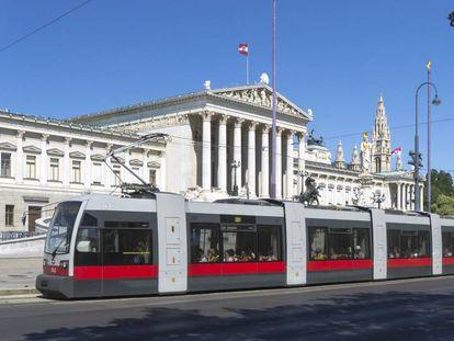 Tram en Viena, 2013