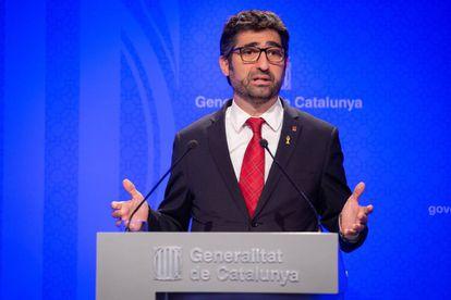 El consejero de Políticas Digitales, Jordi Puigneró.