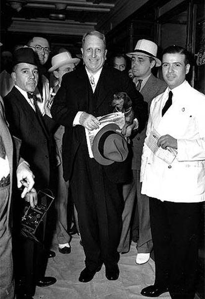 William Randolph Hearst, en Nueva York en 1936.