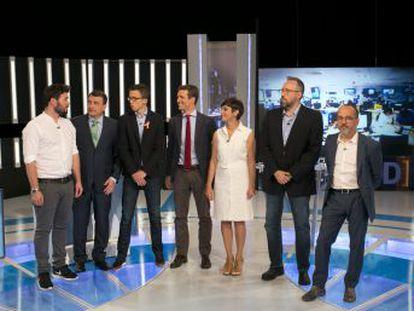 El derecho a decidir marca la discusión entre todos los partidos y une a Podemos con las fuerzas soberanistas