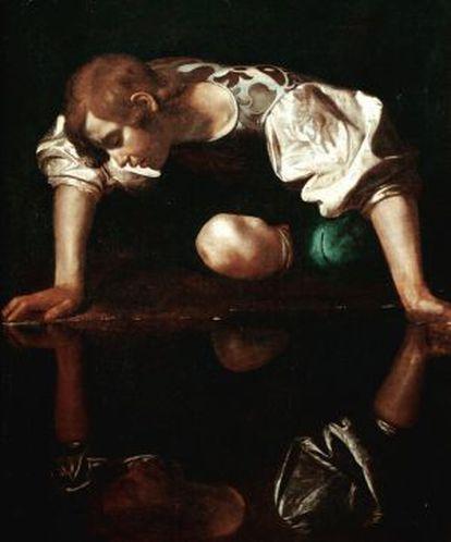 El Narciso de Caravaggio.
