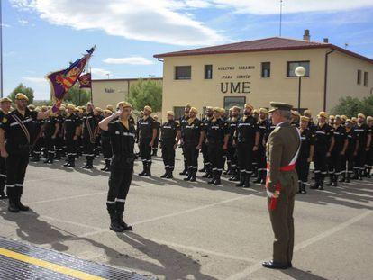 Aniversario de una de las delegaciones de la Unidad Militar de Emergencia (UME)