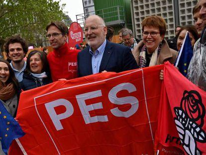 El candidato socialdemócrata Frans Timmermans, el pasado mayo.