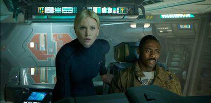 Imagen de la película de 'Prometheus', estrenada en 2012.