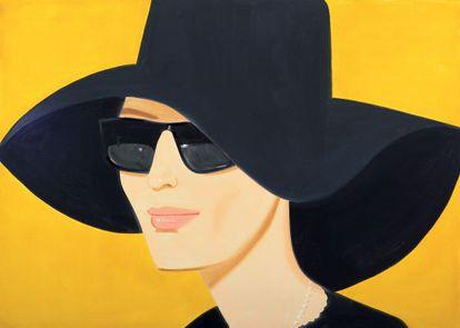 'Ulla con sombrero negro' (2010).