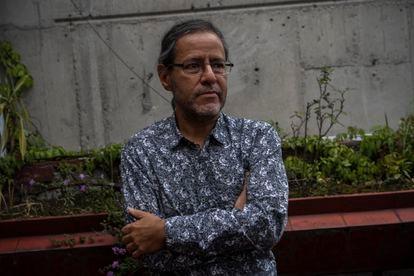 El historiador Federico Navarrete, durante una entrevista en su casa de Ciudad de México.