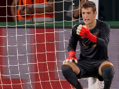 El portero del Athletic de Bilbao  Agirrezabala